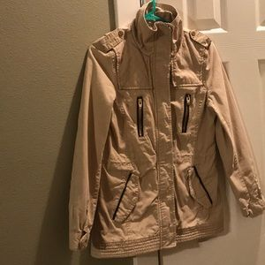 Camel colored H&M jacket. Sz: EUR34 US 4